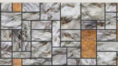Taş Görünümlü Dış Cephe Paneli Mix 680-404